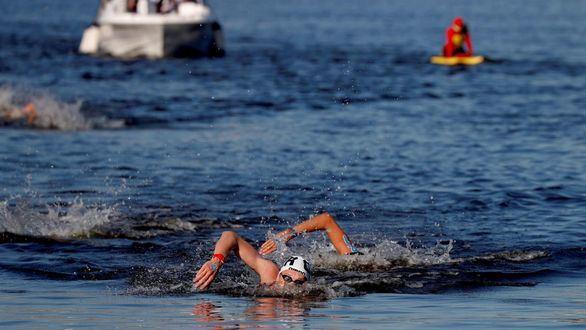 Wellbrock, oro en aguas abiertas cuatro días después de su bronce en 1.500