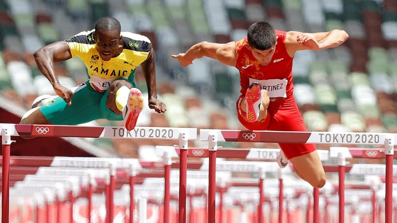 Asier Martínez es sexto y Parchment triunfa en los 110 metros vallas