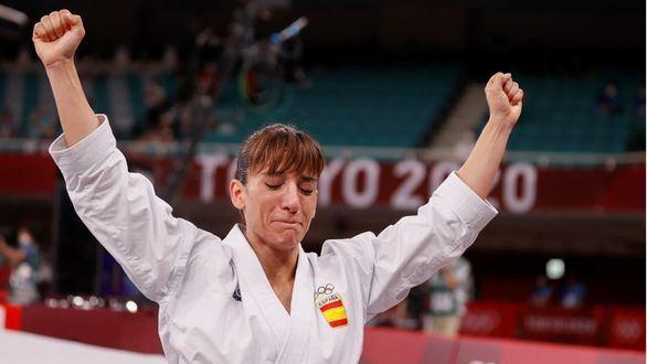 Sandra Sánchez, segunda medalla de oro para España