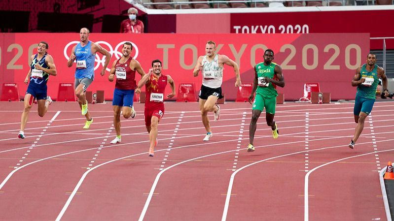 Ureña noveno en su primer decatlón olímpico con marca personal