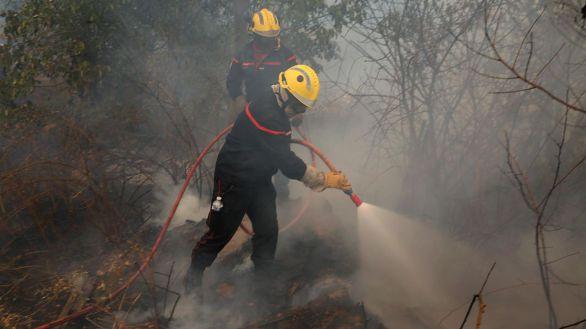 España envía un avión y un equipo de la UME para combatir los incendios en Grecia