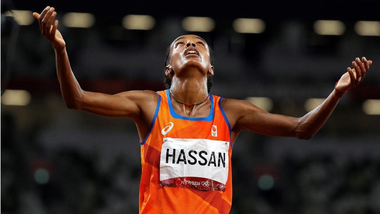 Hassan cierra su triple reto con un oro en el 10.000