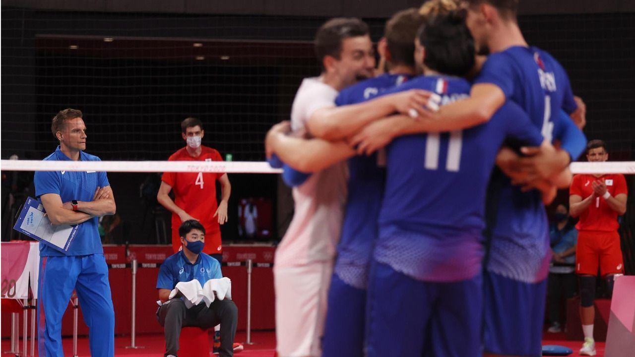 Francia aplaca la remontada de los rusos y gana su primer oro olímpico