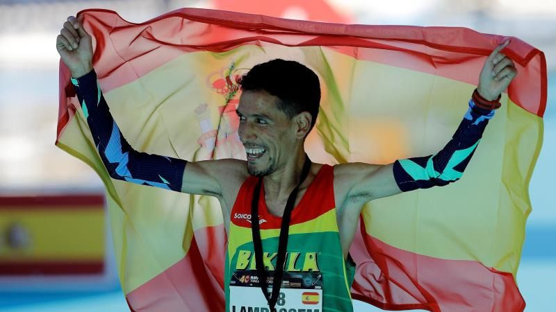 Lamdassem roza la gloria olímpica