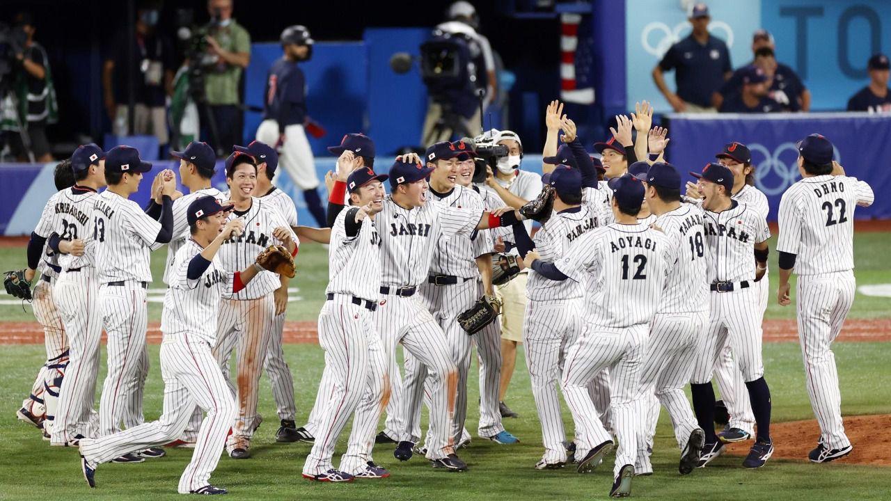 Japón aprovecha el sólido 'pitcheo' para ganar su primer oro