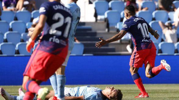 El Atlético se encomienda a Correa para salir victorioso de Vigo |1-2