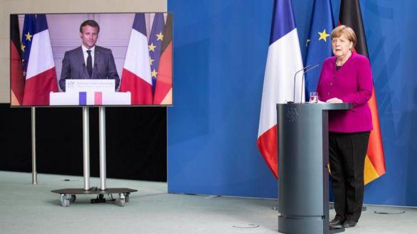 Merkel y Macron estudian cómo contener el flujo migratorio afgano a Europa