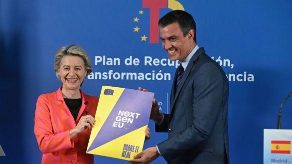 España recibe los primeros 9.000 millones de euros de los fondos europeos