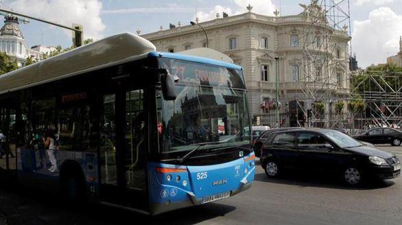 Plano de la nueva ubicación de las paradas de los autobuses de la EMT en Cibeles