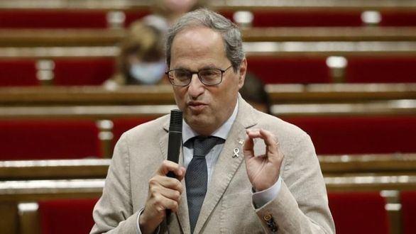 Borràs y Torra cuestionan el compromiso de ERC con la independencia