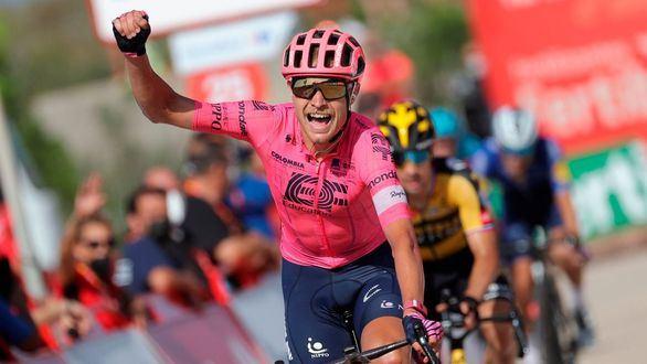 La Vuelta. Cort gana en la Montaña de Cullera y Roglic recupera la roja