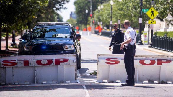 Se rinde tras amenazar con una bomba cerca del Congreso de EEUU