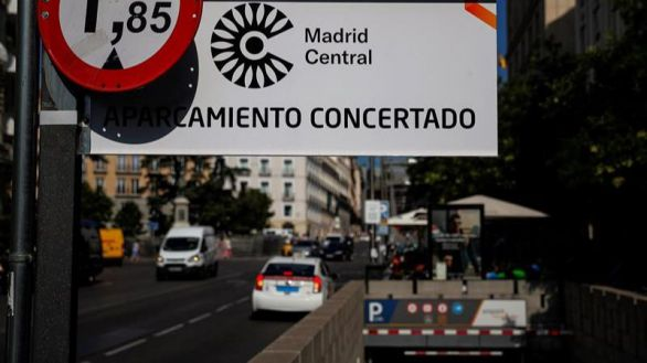 Almeida aprueba su nuevo Madrid Central: