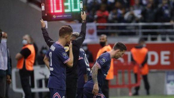 Más de 2 millones de espectadores ven el debut de Messi en el PSG