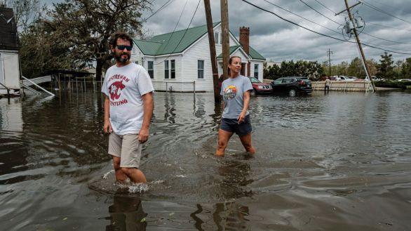 EEUU moviliza ayudas tras la desolación dejada por el huracán Ida