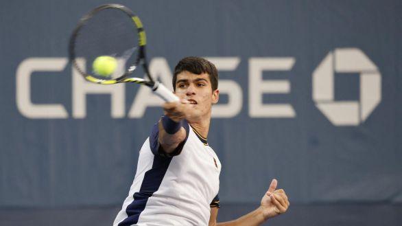 US Open. Alcaraz consigue un hito con el que supera a Nadal, Djokovic y Federer