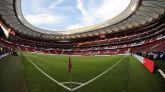 El estadio Wanda Metropolitano, este sábado.