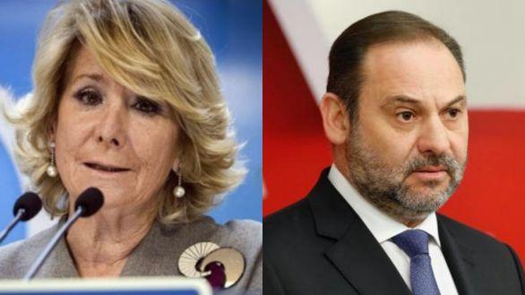 Esperanza Aguirre y José Luis Ábalos, nuevos colaboradores de Todo es mentira