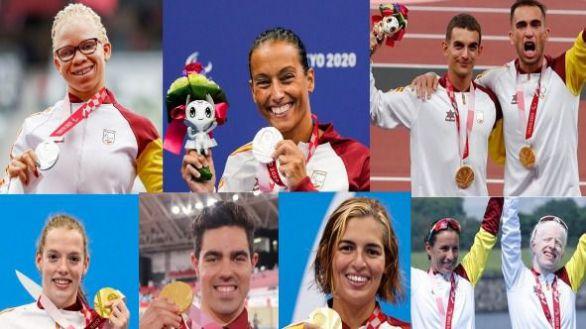 Juegos Paralímpicos. España termina su participación con 36 medallas