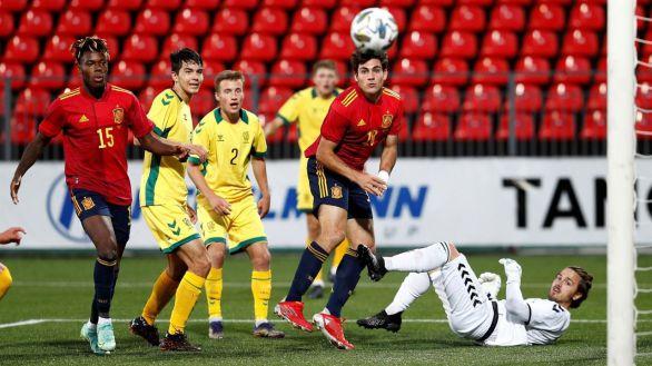 Clasificatorio Eurocopa Sub-21. España da otro paso ante Lituania   0-2