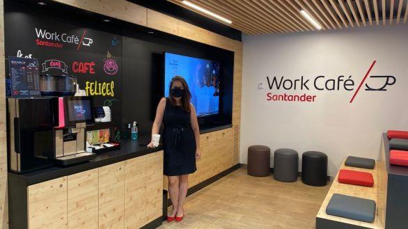 Banco Santander abre 36 Work Café en campus universitarios