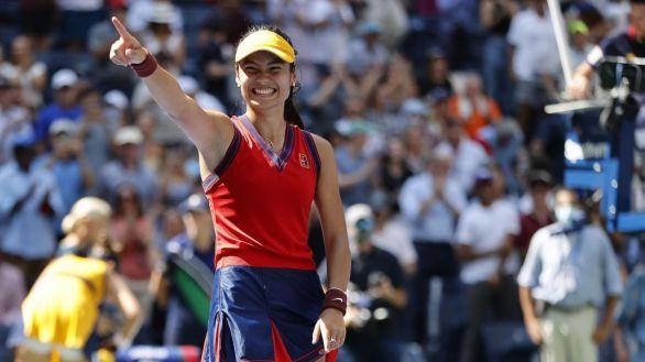 US Open. Eclosiona Raducanu, el diamante del tenis que enamora al Reino Unido