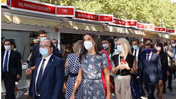 Vuelve la Feria del Libro de Madrid tras dos años y medio de ausencia por la pandemia
