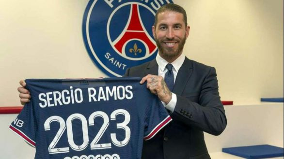 Sergio Ramos sigue sin debutar y el PSG trata de calmar a su afición