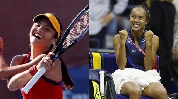 US Open. Raducanu y Fernández, perlas del tenis, jugarán una final histórica
