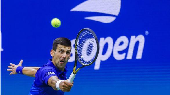 US Open. Djokovic, a un partido de los cuatro grandes en un año