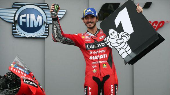 Moto GP. Bagnaia vuela para lograr la pole en Motorland