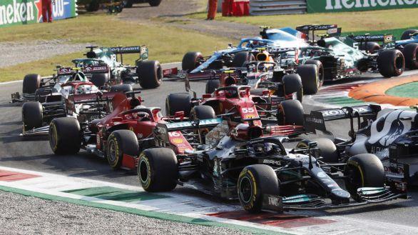 F1. Bottas triunfa al esprint y Hamilton se complica en Monza