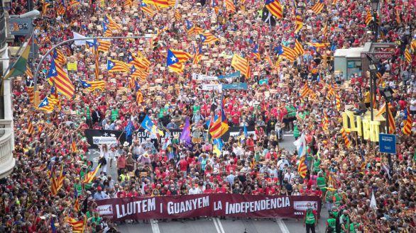 La Diada confirma la división entre los separatistas