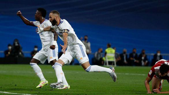 El Real Madrid arranca con un triunfo alegre en su regreso al Bernabéu