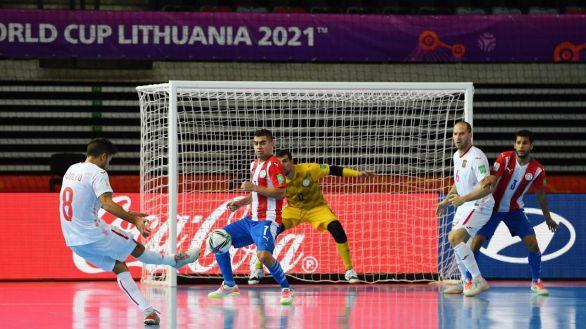 Mundial. España vence con solvencia en su debut a Paraguay   0-4