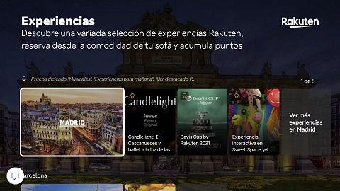 Rakuten y Telefónica lanzan una app para consultar eventos y comprar entradas