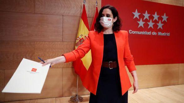 Ayuso blindará la política fiscal de Madrid con una ley de autonomía financiera
