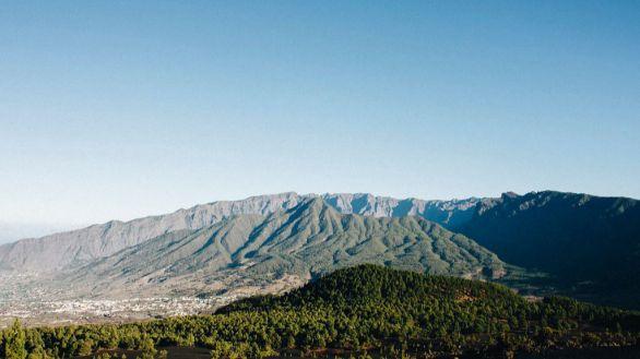 Imagen de archivo de la Cumbre Vieja de La Palma.
