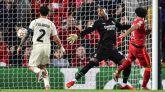 El Liverpool escapa de una debacle inesperada contra el Milan | 3-2