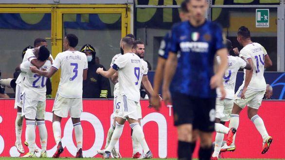 El Real Madrid logra desarbolar al Inter a tiempo para la victoria  0-1