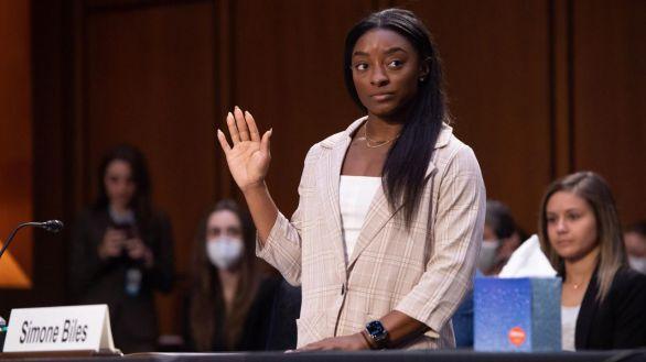 El duro testimonio de Simone Biles ante el Senado para denunciar los abusos sexuales de Nassar