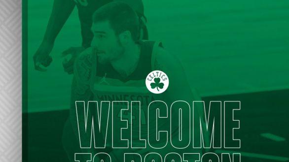 NBA. Juancho Hernangómez, primer español en la historia de los Boston Celtics
