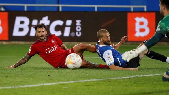 Osasuna enciende las alarmas en el Alavés |0-2