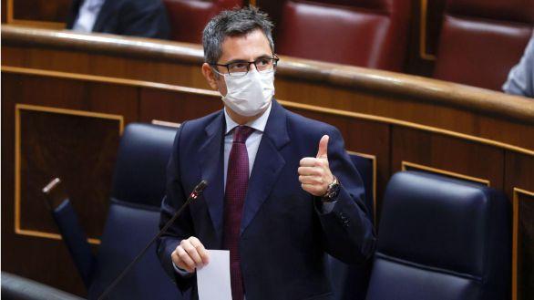 Bolaños inicia con el PP una ronda de conversaciones para renovar el CGPJ