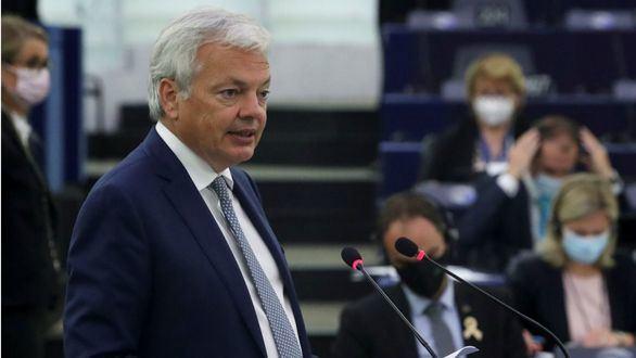 El comisario de Justicia, Didier Reynders.