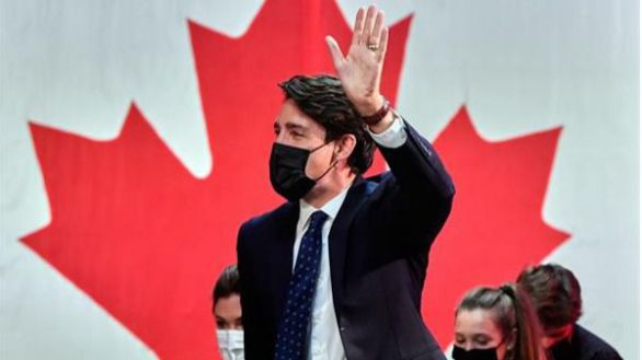 Trudeau gana las elecciones pero sin mayoría