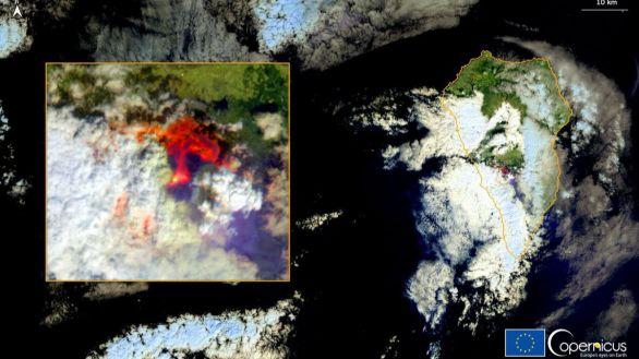 ¿Qué pasará cuando la lava entre en contacto con el mar?