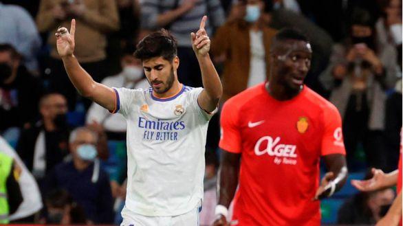 Asensio se reivindica en un Real Madrid que asoló al Mallorca  6-1
