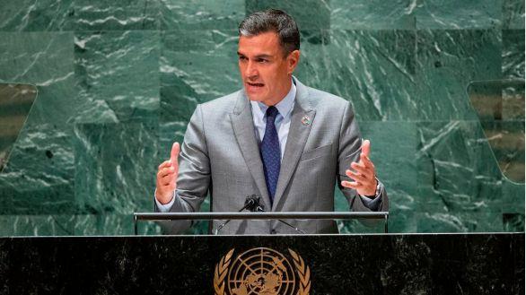 Sánchez pasa de puntillas por el asunto del Sáhara en su discurso en la ONU