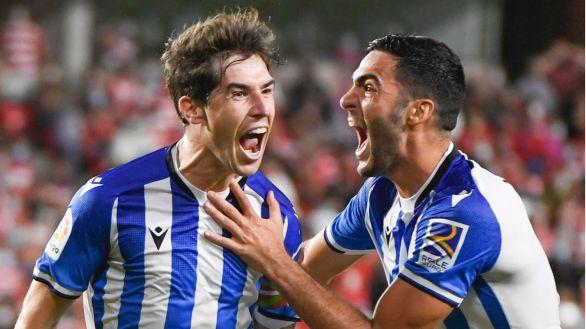 La Real logra remontar a un Granada que sigue frágil |2-3